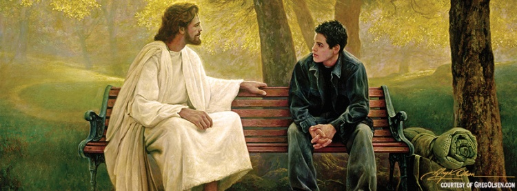 'Lost and Found' by Greg Olsen. Used with Permission. http://www.GregOlsen.com